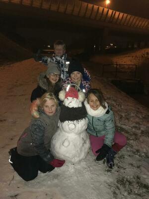 Sneeuwballen, ijsbanen, Vrijbuiters en een goede party!