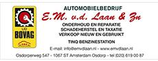 Autobedrijf E.M. v.d. Laan en Zoon